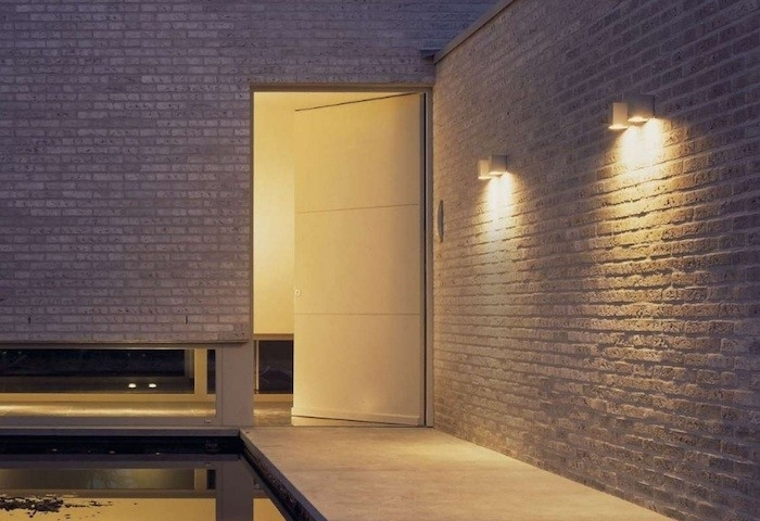 Incredible Exterior Wall Sconce Light Fixtures Hardscaping 101 regarding Outside Wall Lighting (Image 8 of 10)