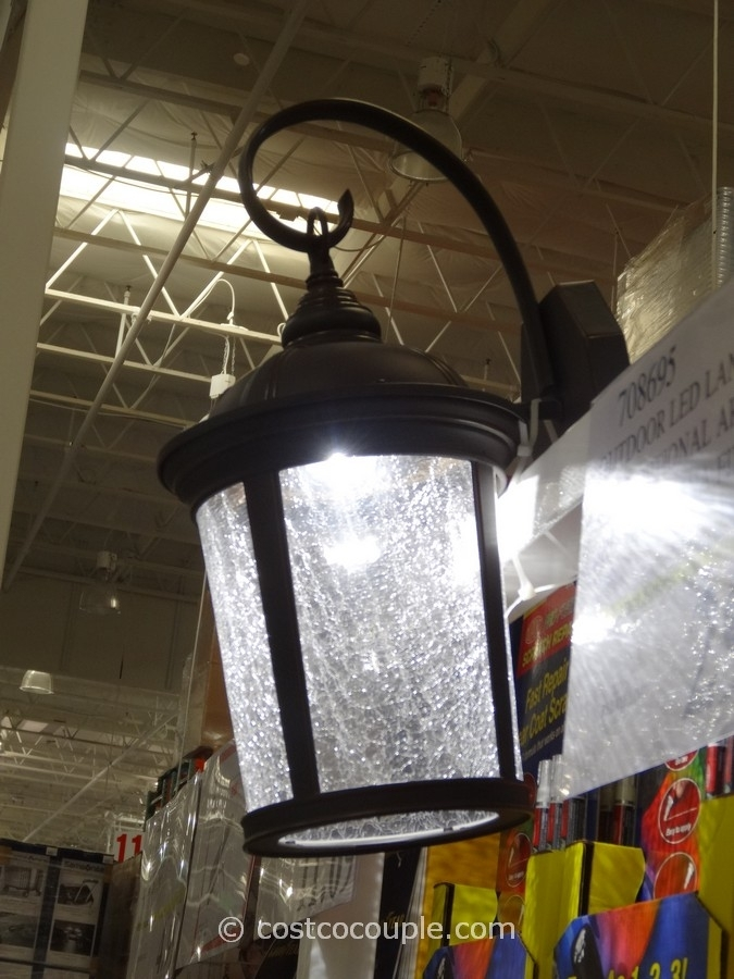 Incredible Outdoor Led Lantern Lights Outdoor Led Lantern Home inside Outdoor Wall Lighting at Costco (Image 8 of 10)