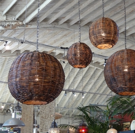 Inspiration // Get The Look – inside Outdoor Hanging Globe Lanterns (Image 4 of 10)