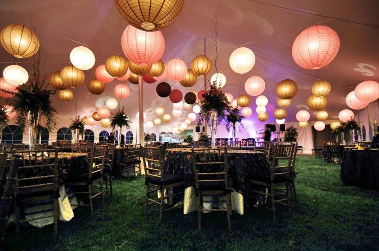Inspiration Spotlight: Paper Lanterns | Lippincott Blog for Outdoor Hanging Paper Lanterns (Image 4 of 10)
