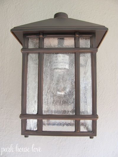 Jardin Du Jour Sierra Craftsman Outdoor Wall Light | Park House Love pertaining to Outdoor Wall Porch Lights (Image 6 of 10)
