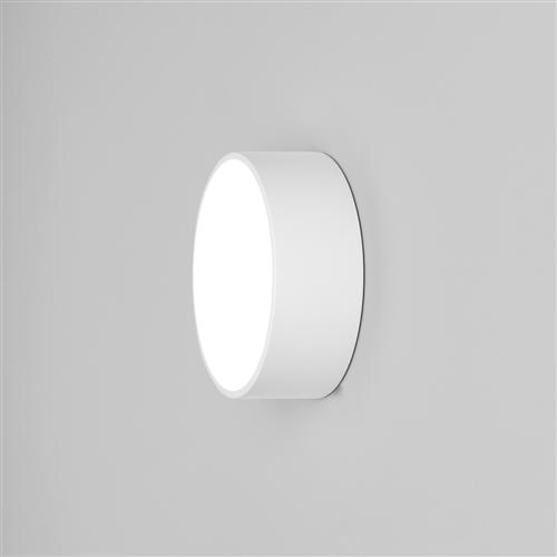 Kea 150 Round White Ip65 Outdoor Wall Light 8019 | The Lighting with regard to Ip65 Outdoor Wall Lights (Image 5 of 10)