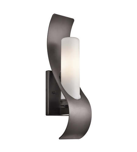Kichler 49149Az Zolder 1 Light 17 Inch Architectural Bronze Outdoor inside Architectural Outdoor Wall Lighting (Image 7 of 10)