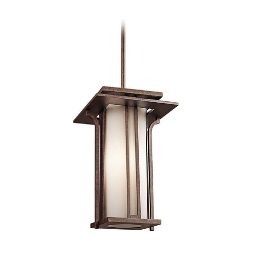 Kichler 49379Agz Priya Outdoor Hanging Light Throughout Kichler Outdoor Hanging Lights (Photo 6 of 10)
