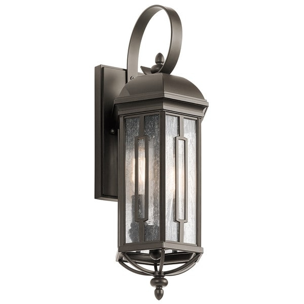 Kichler Lighting Galemore Collection 2 Light Olde Bronze Outdoor Inside Kichler Lighting Outdoor Wall Lanterns (Photo 1 of 10)