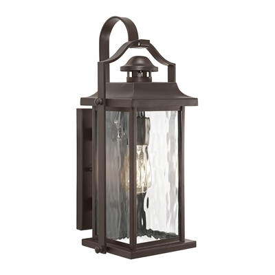 Kichler Linford 15-In H Olde Bronze Outdoor Wall Light | Lowe's Canada throughout Outdoor Wall Lighting At Kichler (Image 8 of 10)
