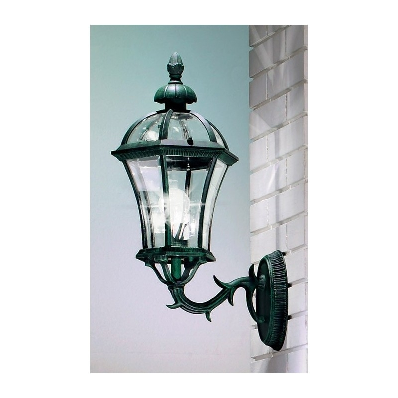 Kolarz Westminster Outdoor Wall Light Green 268 60 3 Free Delivery Intended For Green Outdoor Wall Lights (Photo 4 of 10)