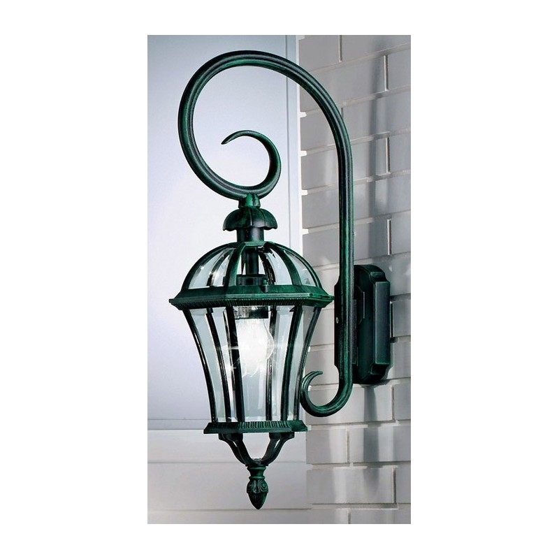 Kolarz Westminster Outdoor Wall Light Green 268 62 3 Free Delivery Throughout Green Outdoor Wall Lights (Photo 3 of 10)