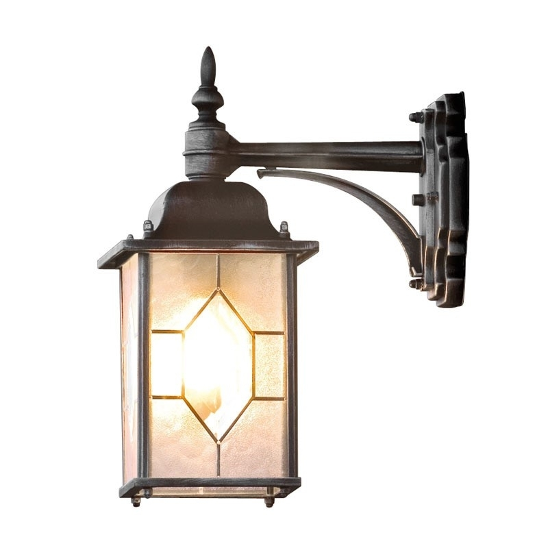Konstsmide Milano Outdoor Hanging Lantern Wall Light - Lighting Direct within Outdoor Hanging Wall Lanterns (Image 5 of 10)