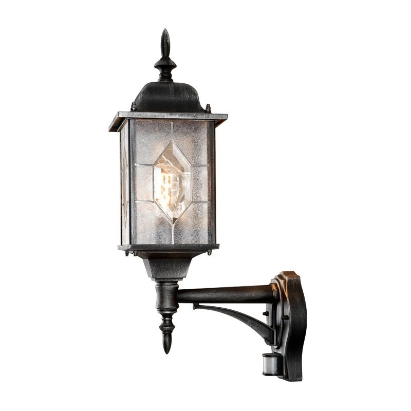 Konstsmide Milano Outdoor Lantern Wall Light With Pir Sensor Intended For Outdoor Hanging Lanterns With Pir (Photo 10 of 10)