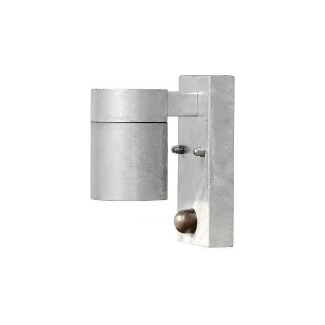 Konstsmide Modena Single Light Outdoor Wall Fitting In Galvanised inside Outdoor Wall Lighting With Sensor (Image 3 of 10)