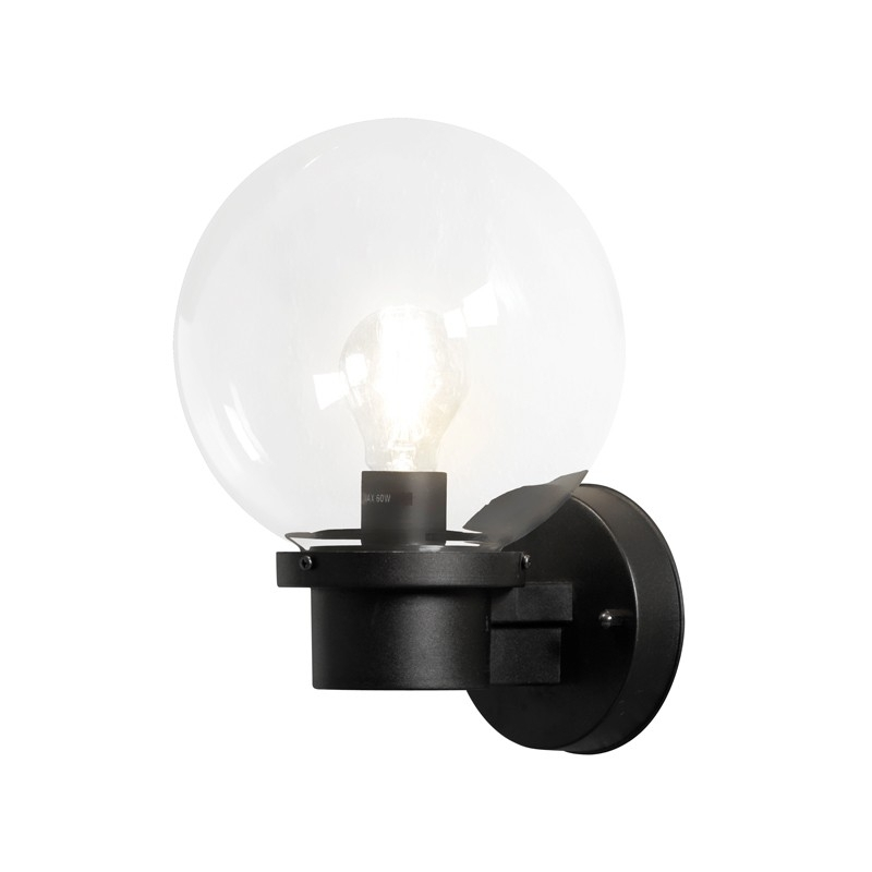 Konstsmide Nemi Globe Outdoor Wall Light - Lighting Direct regarding Outside Wall Globe Lights (Image 5 of 10)