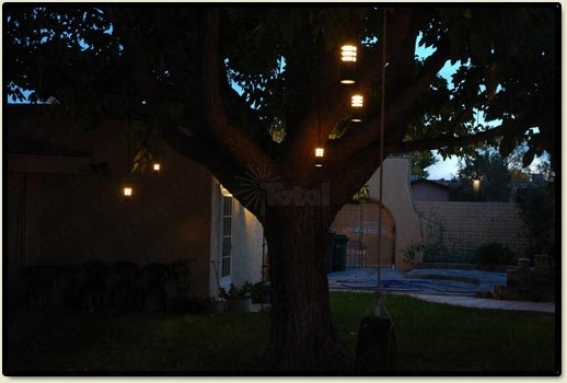 Landscape Lighting Outdoor Low Voltage Flower Hanging Tree Light Regarding Outdoor Low Voltage Hanging Tree Lights (View 3 of 10)