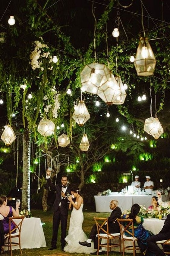 Lantern Decorations For Weddings Beautiful 40 Hanging Lanterns D Cor regarding Outdoor Hanging Lanterns For Wedding (Image 9 of 10)