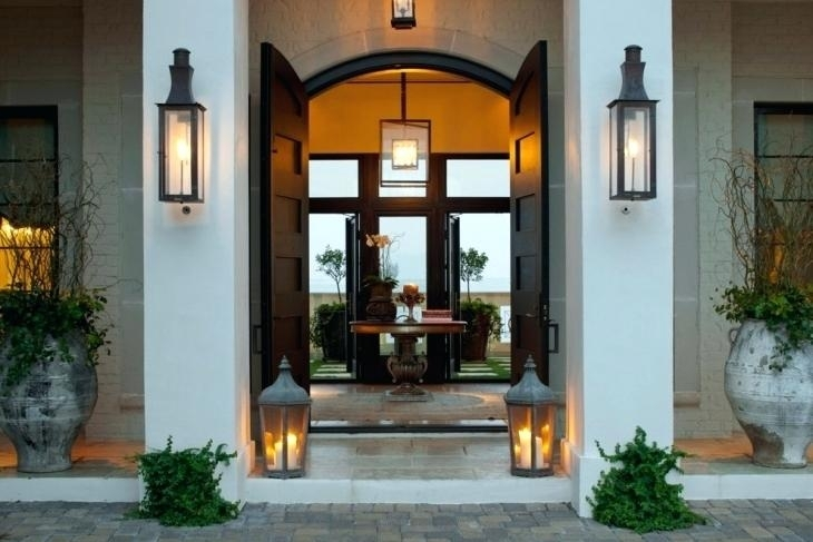 Large Exterior Wall Lights Excellent Sconces Ensconced Definition in Large Outdoor Wall Lighting (Image 6 of 10)