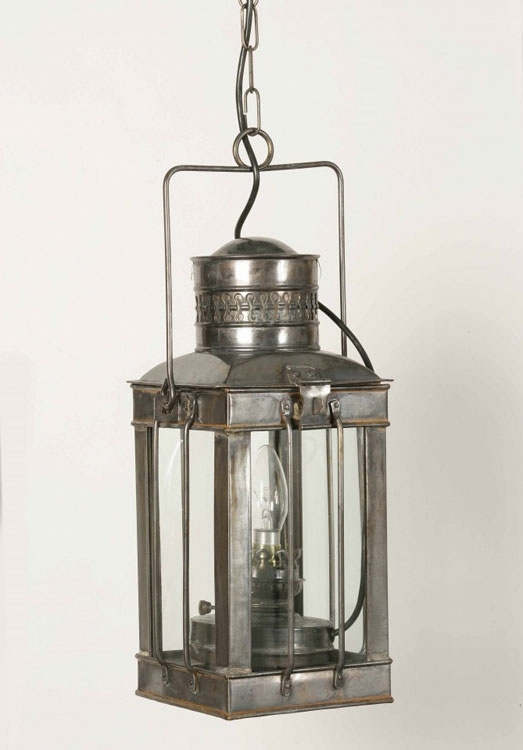 Large Replica Cargo Lamp Outdoor Hanging Porch Light Brass 422 in Outdoor Hanging Porch Lights (Image 7 of 10)