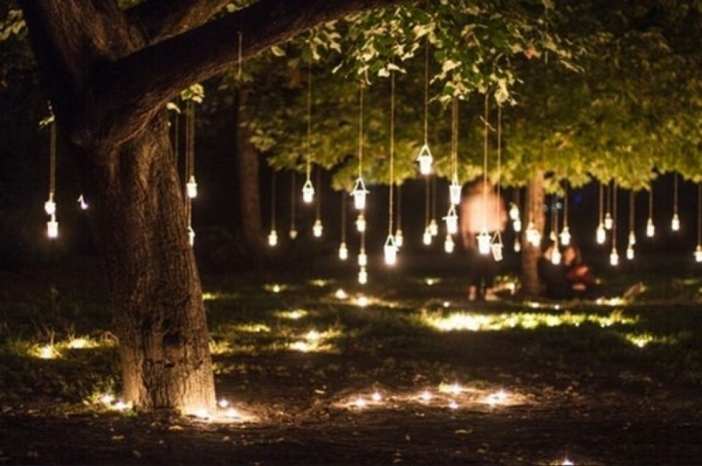 Latest Outdoor Hanging Lights For Trees | Idea | Pinterest | Outdoor Pertaining To Outdoor Hanging Lights For Trees (View 6 of 10)