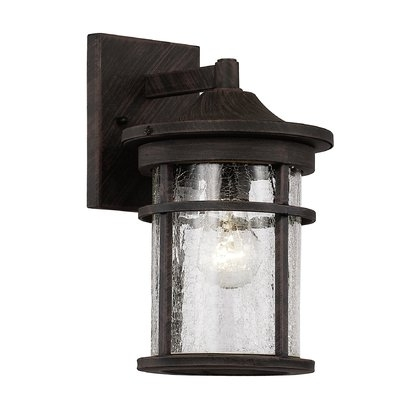 Latitude Run Ilene 1-Light Outdoor Wall Lantern | Wayfair within Outdoor Wall Lighting at Wayfair (Image 5 of 10)