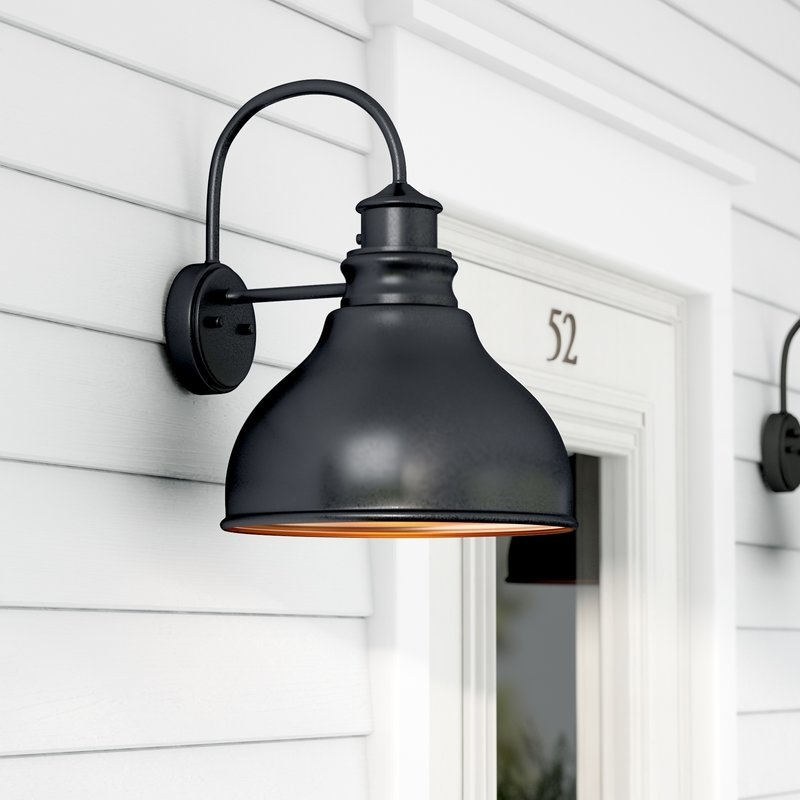 Laurel Foundry Modern Farmhouse Lavardin 1 Light Outdoor Wall With throughout Farmhouse Outdoor Wall Lighting (Image 4 of 10)