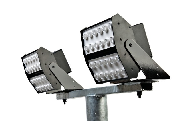 Led Flood Lights Outdoor - Zazoulounge in Hanging Outdoor Flood Lights (Image 5 of 10)