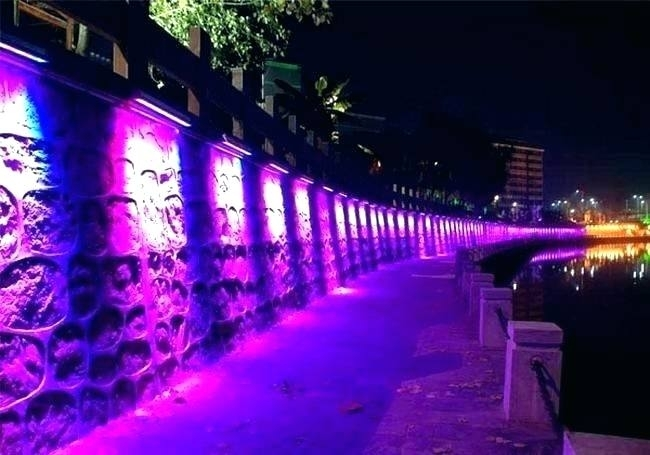 Featured Photo of Outdoor Wall Washer Led Lights