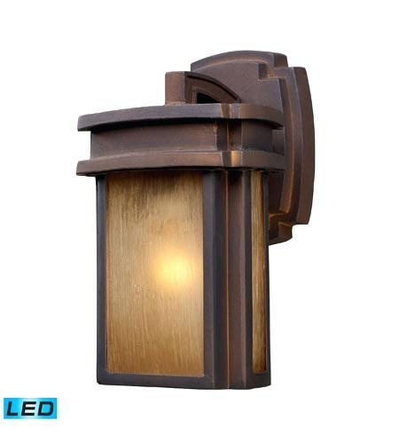 Led Outdoor Wall Mount Lighting Lithonia Lighting Wall Mount Outdoor intended for Lithonia Lighting Wall-Mount Outdoor Bronze Led Floodlight With Photocell (Image 5 of 10)