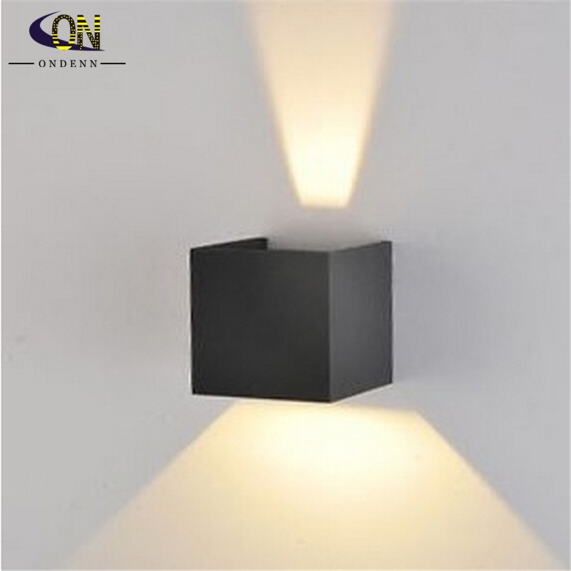 Led Outdoor Wall Sconce 8W Led Wall Lamps Waterproof Modern Led Wall with regard to White Led Outdoor Wall Lights (Image 7 of 10)
