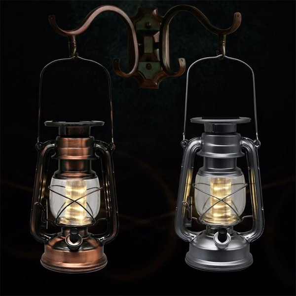 Led Porching Lighting Solar Lantern Vintage Solar Power Led Solar throughout Outdoor Hanging Decorative Lanterns (Image 9 of 10)
