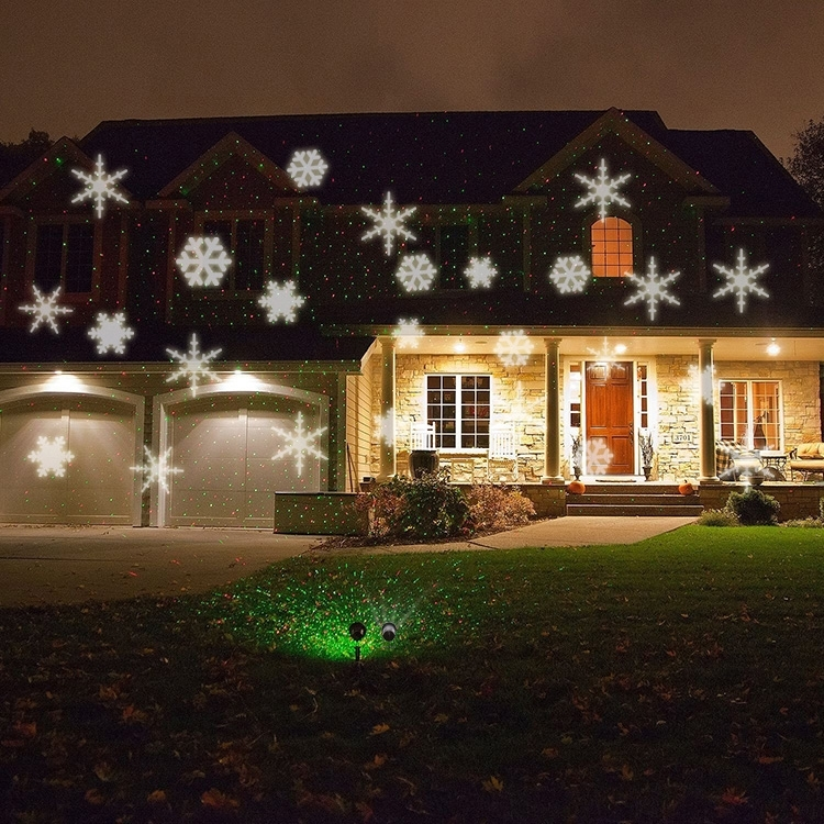 Led Project Light Dip Landscape Projector Lamp Indoor/outdoor Regarding Outdoor Wall Xmas Lights (View 5 of 10)
