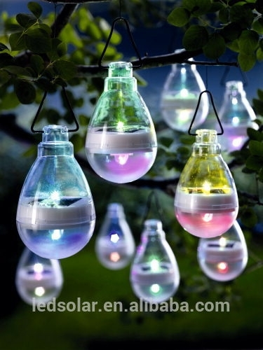 Led Solar Garden Hanging Light For Outdoor Decoration – Buy Solar Throughout Solar Outdoor Hanging Lights (View 4 of 10)
