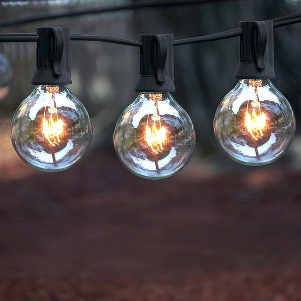 Light Bulb Outdoor String Lights String Lights Costco – Fatetofatal intended for Outdoor Hanging Grape Lights (Image 3 of 10)