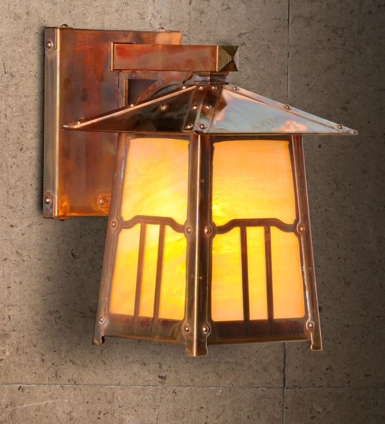 Lighting Design Ideas Mission Style Craftsman Outdoor Awesome 5 with Mission Style Outdoor Wall Lighting (Image 7 of 10)
