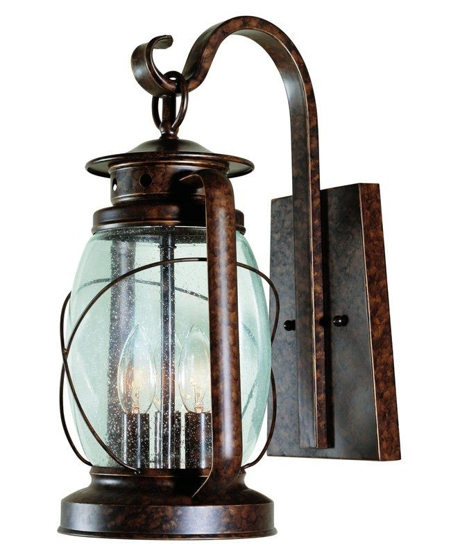 Lighting Design Ideas: Remote Electric Outdoor Lantern Light in Electric Outdoor Hanging Lanterns (Image 6 of 10)