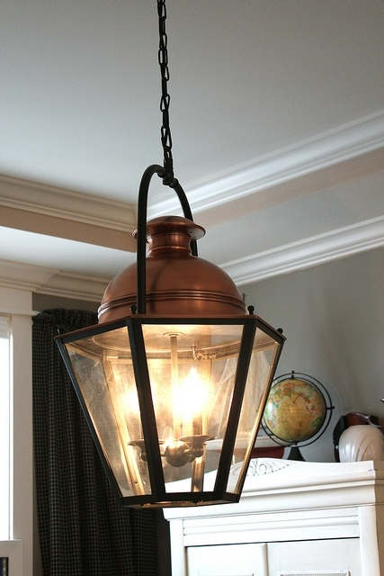 Lighting Design Ideas: Remote Electric Outdoor Lantern Light intended for Electric Outdoor Hanging Lanterns (Image 7 of 10)