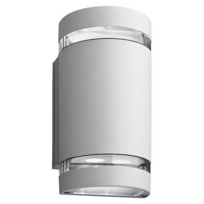 Lithonia Lighting Wall Mount Outdoor White Led Wall Cylinder Up And within Led Wall-Mount Outdoor Lithonia Lighting (Image 6 of 10)
