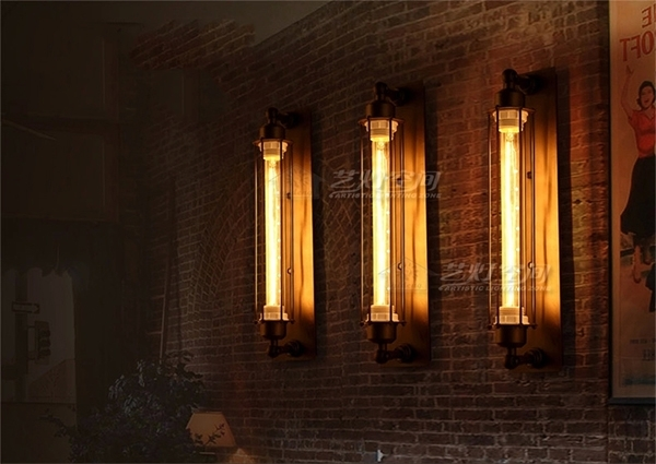 Loft Industrial Style Indoor Decoration Modern Outdoor Wall Lighting within Industrial Outdoor Wall Lighting (Image 7 of 10)