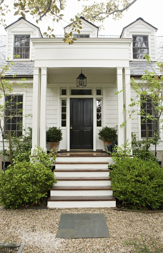 Los Angeles Beautiful Front Porches Entry Traditional With Hedge regarding Front Door Outdoor Hanging Lights (Image 7 of 10)
