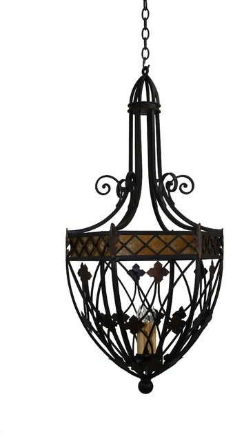 Lovely Pendant Lighting Ideas Wrought Iron Stainless On Light with regard to Outdoor Iron Hanging Lights (Image 5 of 10)