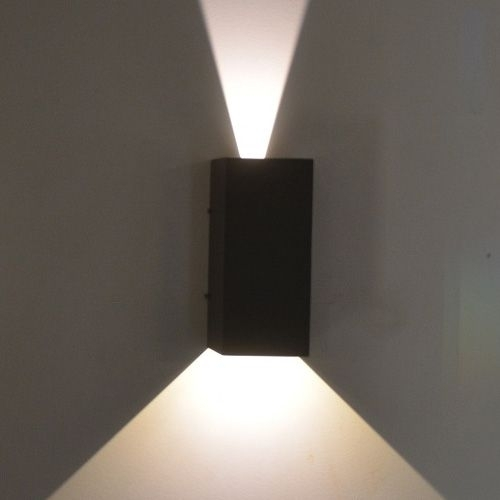 Lucis Cob Led Adjustable Up/down Wall Light | Lighting | Pinterest for Outdoor Up Down Wall Led Lights (Image 8 of 10)
