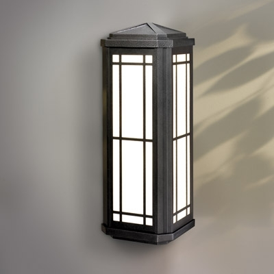 Manning Lighting Riverside Angle Wall Mount Exterior Sconce De-215 for Outdoor Wall Mount Lighting (Image 3 of 10)