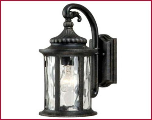 Menards Outdoor Lighting » Buy Patriot Lighting Valencia Gold Stone Pertaining To Patriot Lighting Outdoor Wall Lights (View 6 of 10)