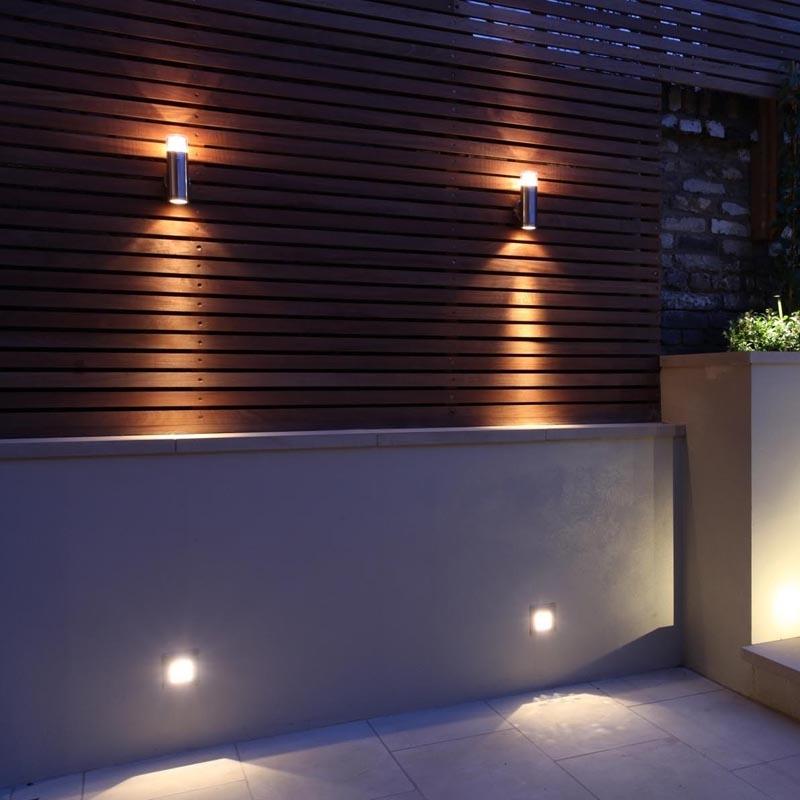 Mesh Halogen Wall Light   Garden & Exterior   John Cullen Lighting within Garden Outdoor Wall Lights (Image 8 of 10)