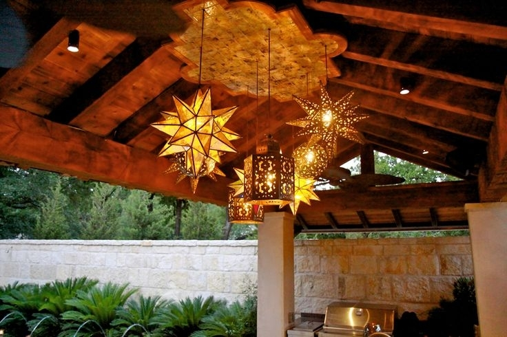Mexican Star Lights | Westmontcatering regarding Mexican Outdoor Hanging Lights (Image 7 of 10)