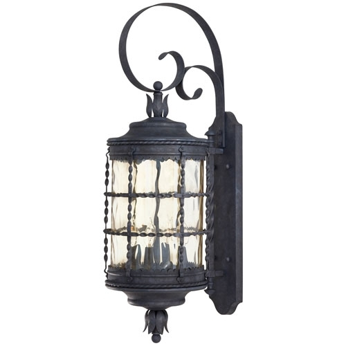 Minka-Lavery Mallorca Large Outdoor Wall-Mounted Lantern | Outdoor with Large Outdoor Wall Light Fixtures (Image 9 of 10)