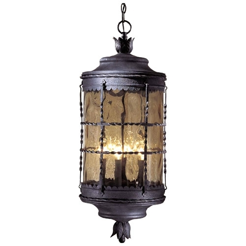 Minka Lavery Mallorca Outdoor Hanging Pendant | Candelabra Bulbs In Outdoor Hanging Lighting Fixtures (View 5 of 10)