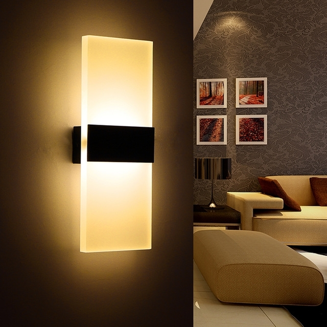 Modern Bedroom Wall Lamps Abajur Applique Murale Bathroom Sconces In Outdoor Wall Lights At Ikea (View 5 of 10)