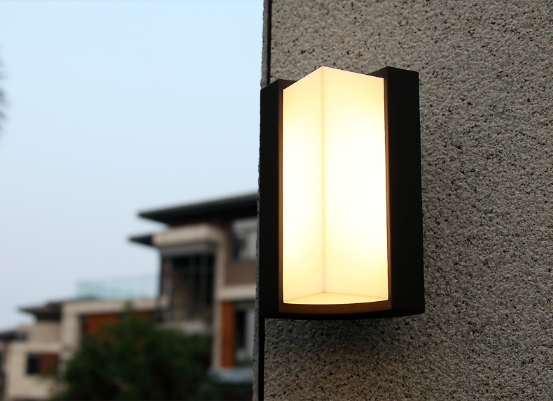 Modern Exterior Sconce Lamp For House Awesome Double Sided Light inside Outside Wall Lights For House (Image 3 of 10)