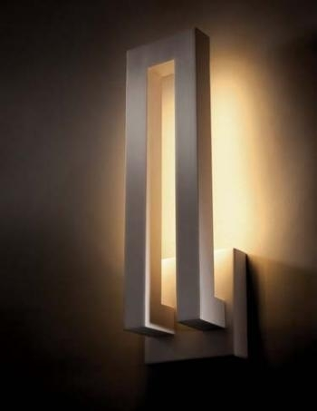 Modern Led Wall Sconces - Stephanegalland for Residential Outdoor Wall Lighting (Image 7 of 10)