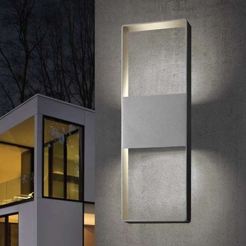 Modern Outdoor Lighting Yliving In Contemporary Wall Lights Ideas in Contemporary Outdoor Wall Lighting (Image 6 of 10)