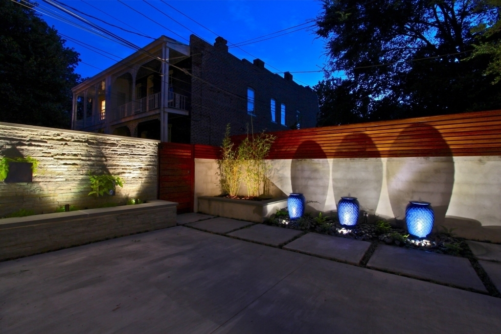 Modern Outdoor Patio Lights : Incredible Idea To Create Outdoor pertaining to Outdoor Wall Patio Lighting (Image 8 of 10)